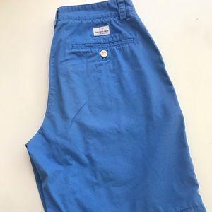 Vineyard Vines: BLUE Cotton Twill Shorts